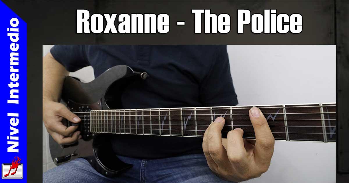 Como tocar Roxanne de The Police en guitarra