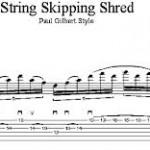 string skipping