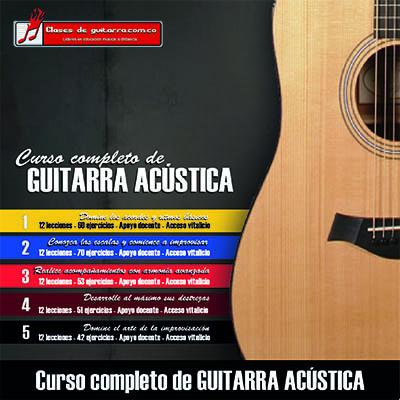 Curso completo de guitarra acústica