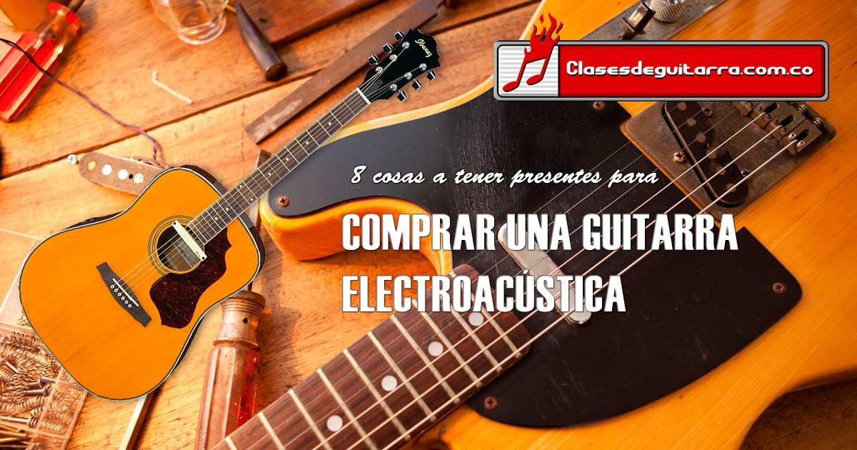 comprar una guitarra electroacústica