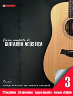 Curso de guitarra acústica 3