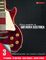 Curso de guitarra electrica nivel 3