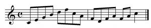 Movimientos melodicos por salto