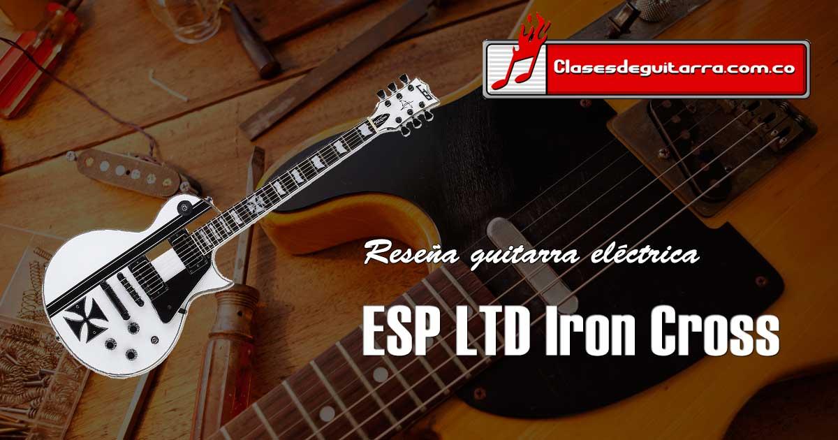 ESP LTD Iron Cross