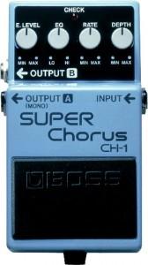 Reseña pedal Boss Ch1 Chorus