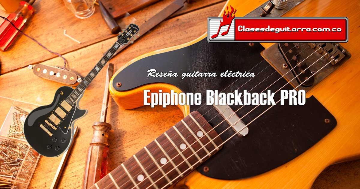 Epiphone Blackback PRO