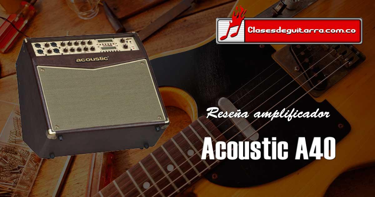 Acoustic A40