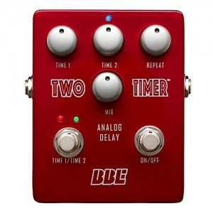 BBE Two Timer Analog Delay Guitar