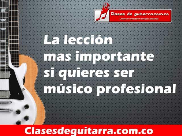 ser músico profesional