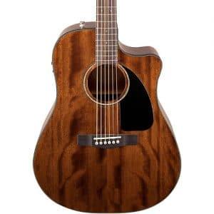 Reseña guitarra acústica Fender CD60CE