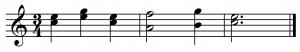 armonia a dos voces