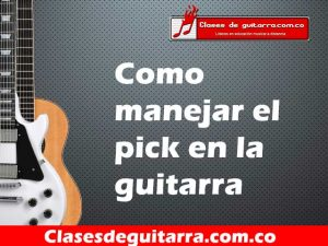 manejar el pick