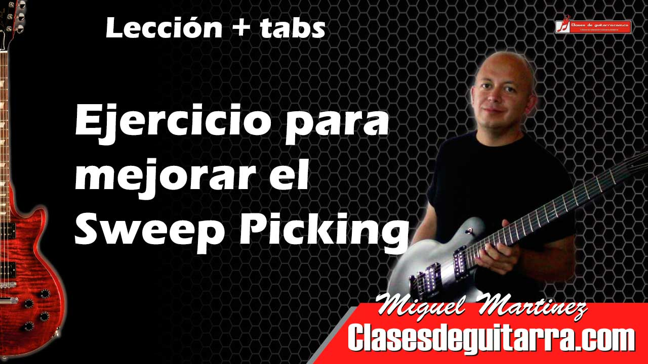 Ejercicio para Sweep Picking