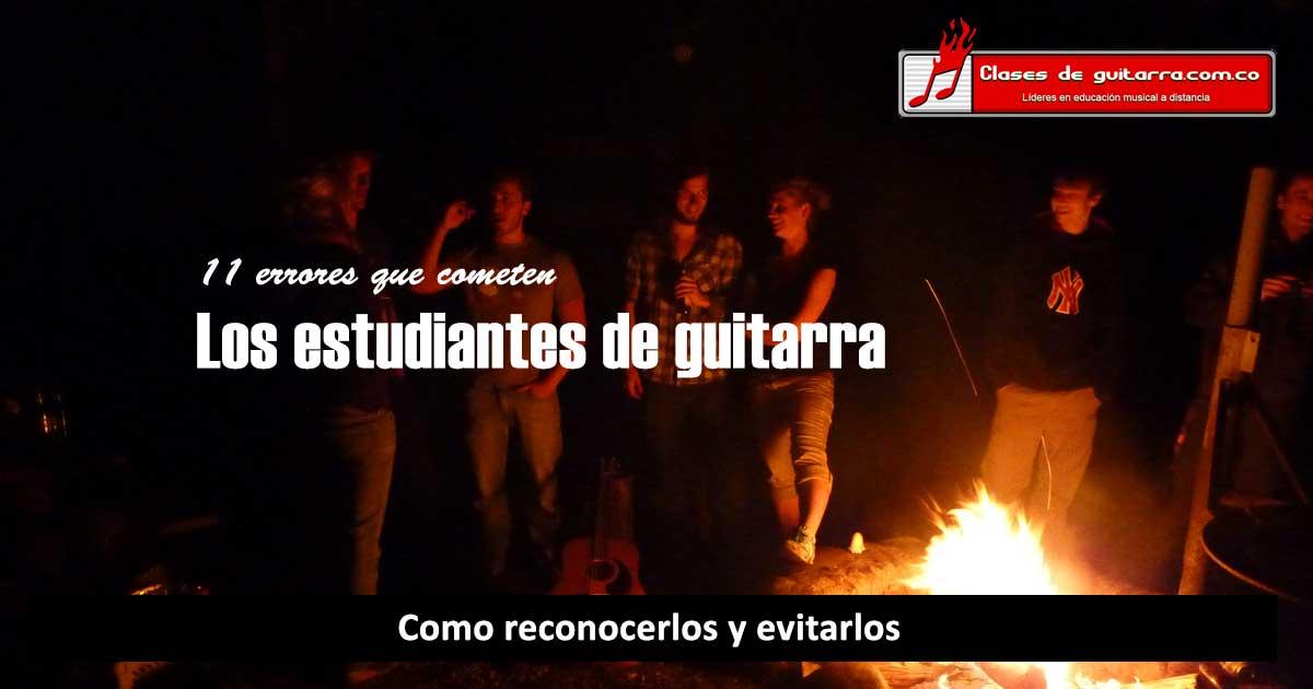 estudiantes de guitarra