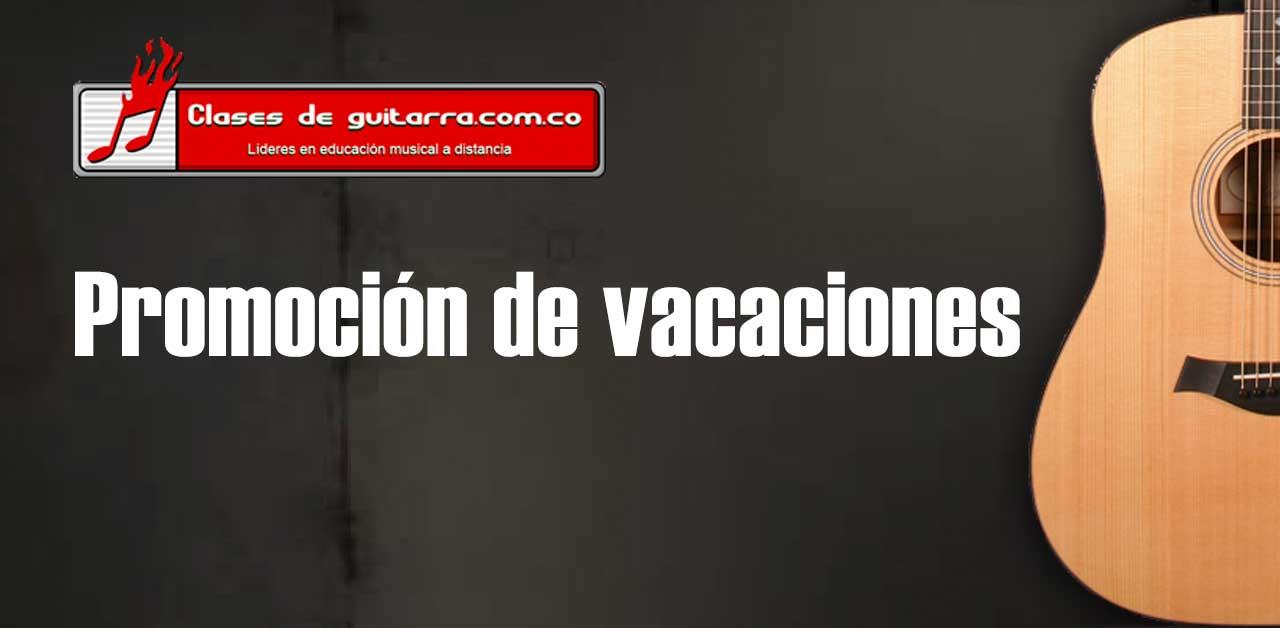 Promoción de vacaciones