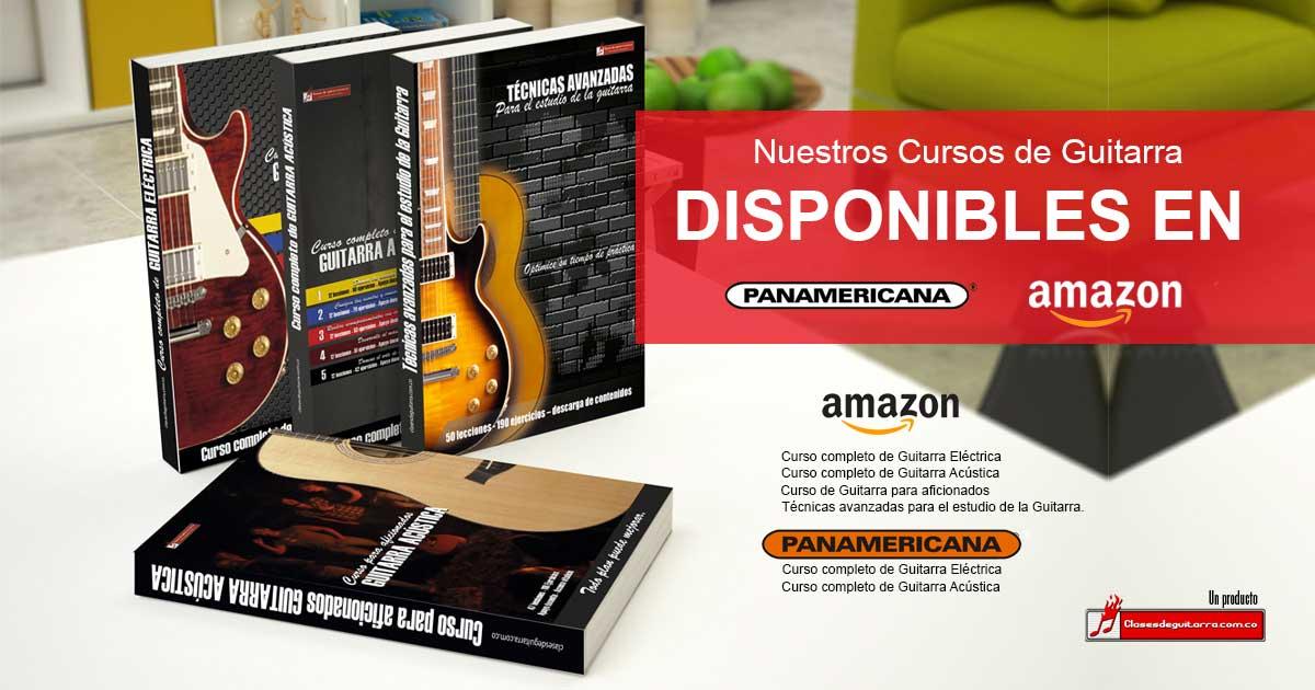 Adquiera nuestro curso de guitarra en formato físico