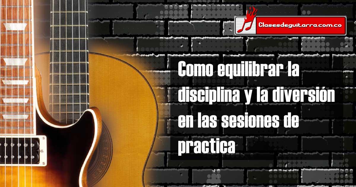 Como equilibrar la disciplina y la diversión en las sesiones de practica
