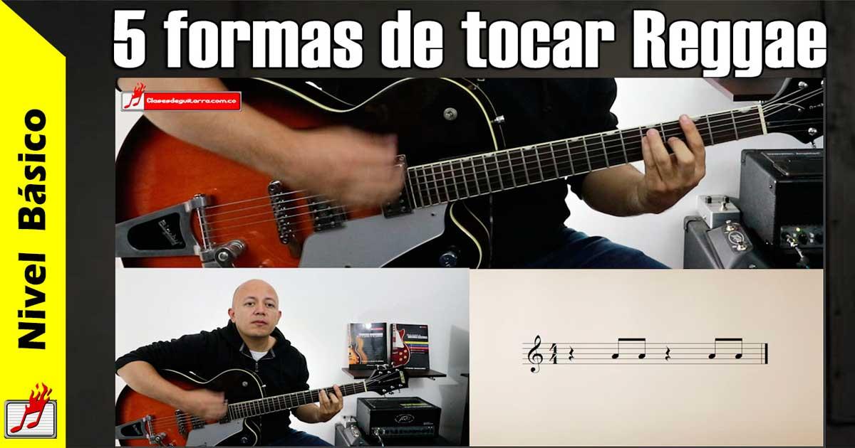 tocar Reggae en guitarra
