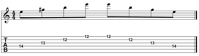 E en sweep picking