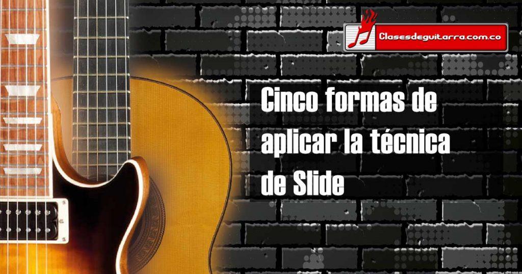Slide en la guitarra