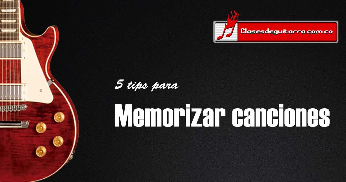 5 tips para memorizar canciones