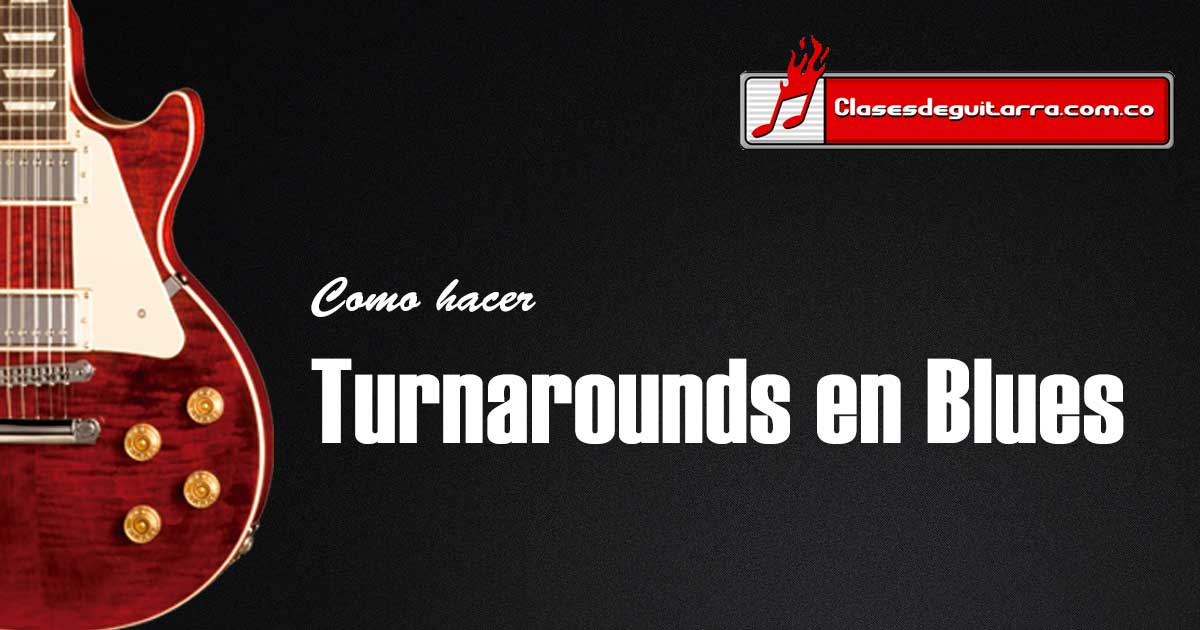 Turnarounds para Blues