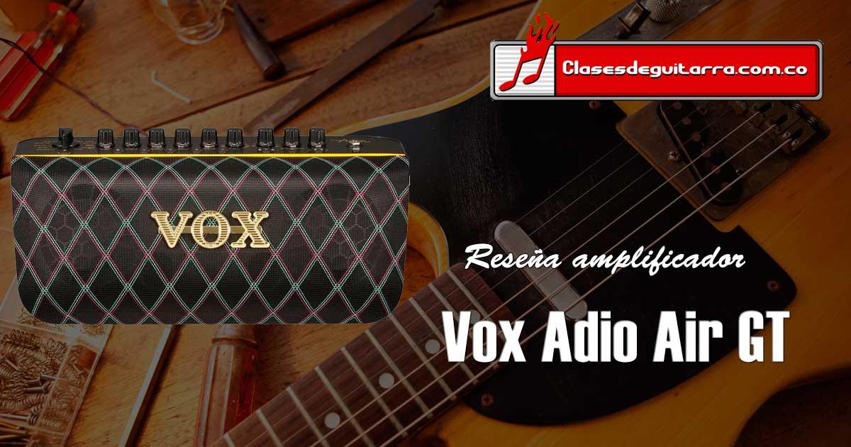 Reseña amplificador para guitarra Vox Adio Air