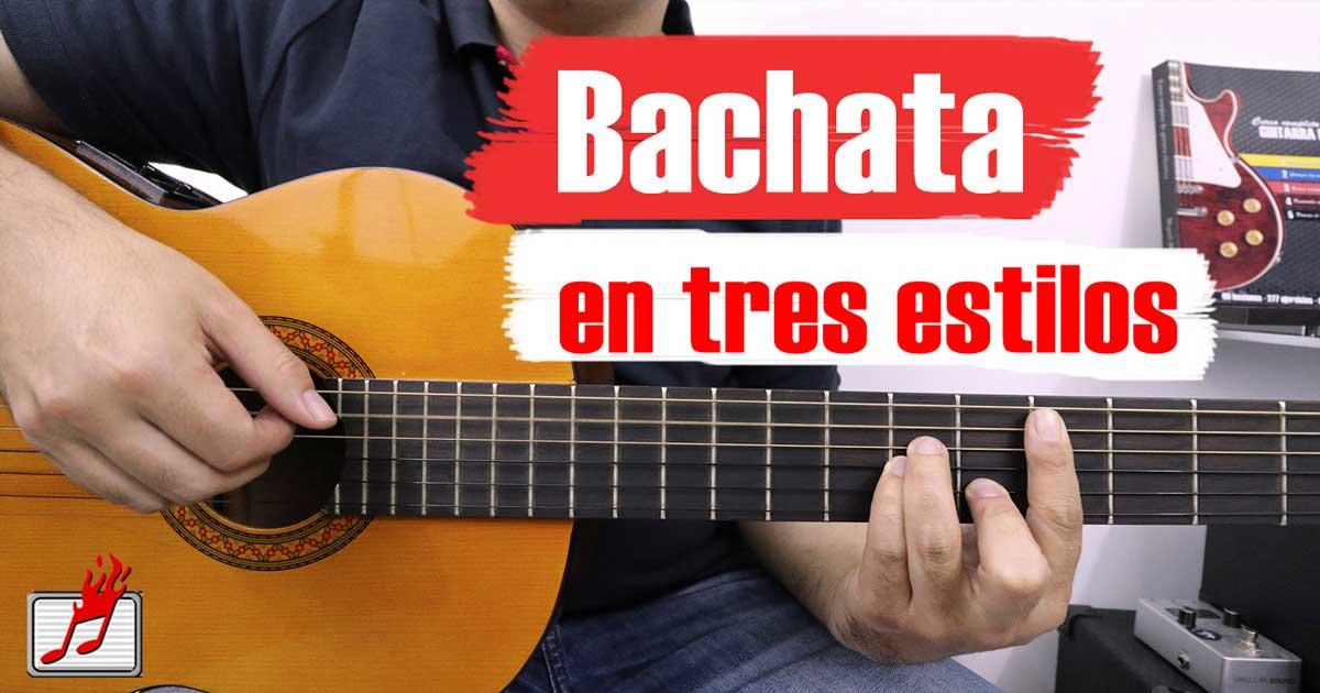 como tocar bachata en guitarra