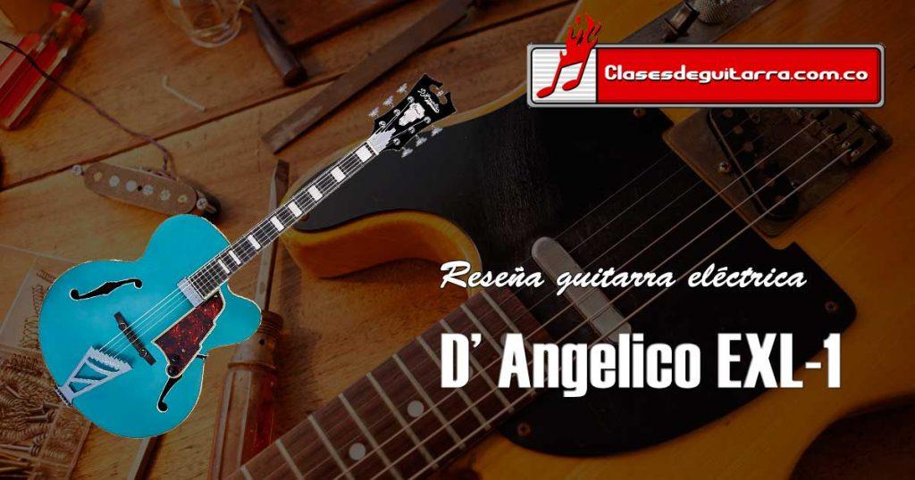 Reseña guitarra eléctrica D' Angelico EXL-1
