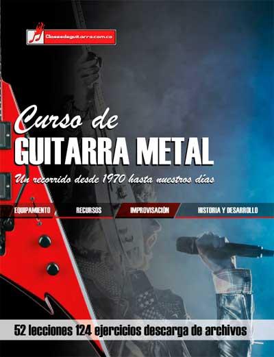 Curso de guitarra metal