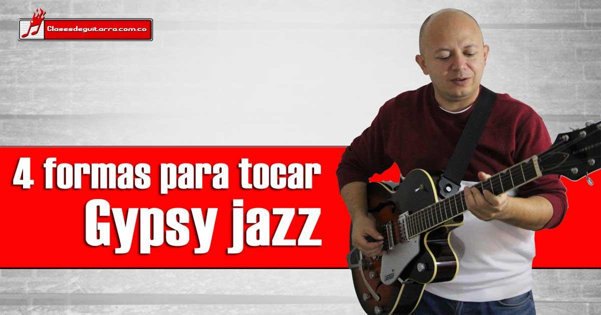 Como tocar Gypsy Jazz en guitarra