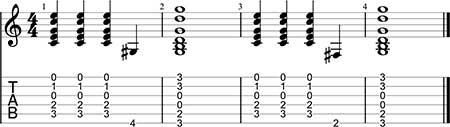 Conexión de acordes cromático