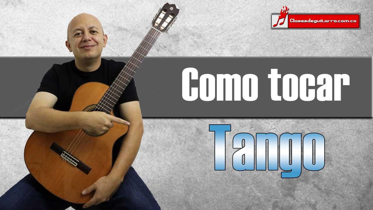 7 formas para tocar Tango en guitarra