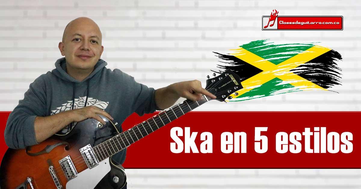 Como tocar Ska en guitarra