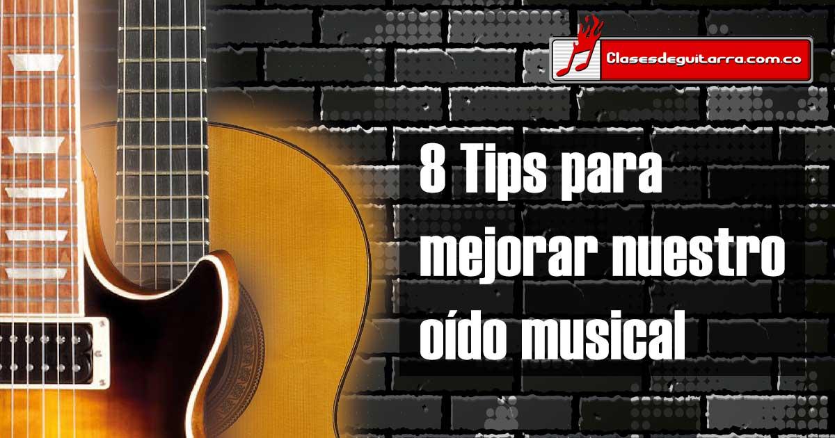 8 Tips para mejorar nuestro oído musical