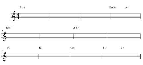 Blues menor variación 2
