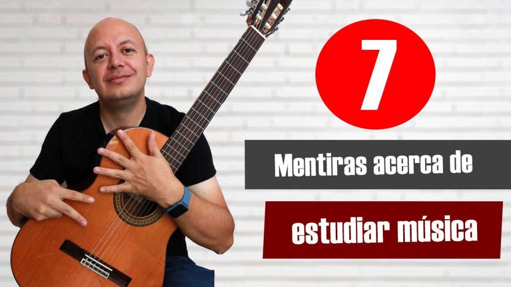 7 mitos acerca de estudiar música profesionalmente